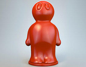 Model of a high detail Figurine Print P