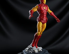 Iron Man Classic - 3D Print Model super