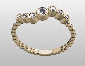 Ball ring zirconia lightweight 3D print model