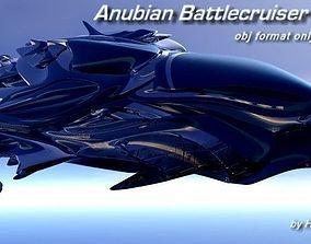 sendercorp 3D Anubian Battlecruiser