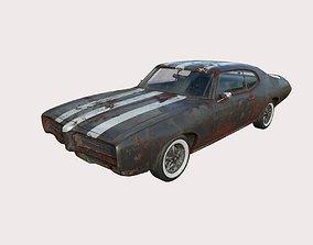 3D model Abandoned Car 56