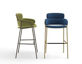 Strike Stool 3D model