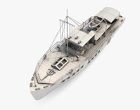 3D Passenger Boat