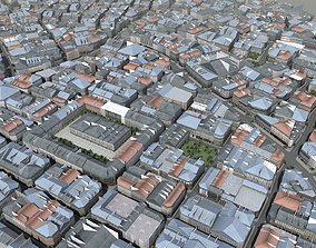 European Style City 3D model