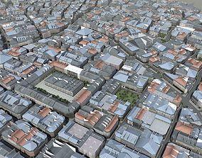 3D model European Style City