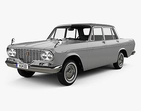 3D model Toyota Crown 1962