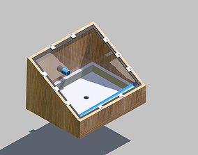 3D model Solar still