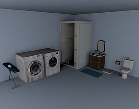 3D model Painless Props - Bathroom