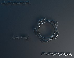 3D print model RABBIT RING gallery