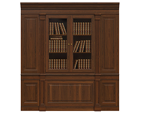 Built-in bookcase 1300 3D model