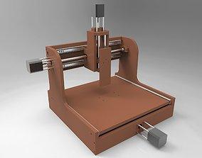 3D model Student 3 axis CNC