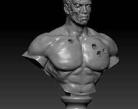 Terminator t-800 3D print model