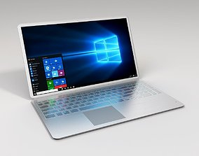Metallic Laptop 3D