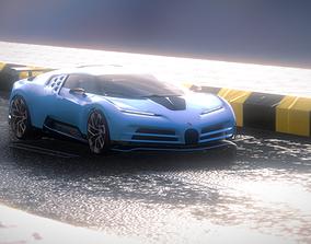 3D model Bugatti Centodieci