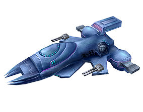 Lightweight - Battleship 02 3D