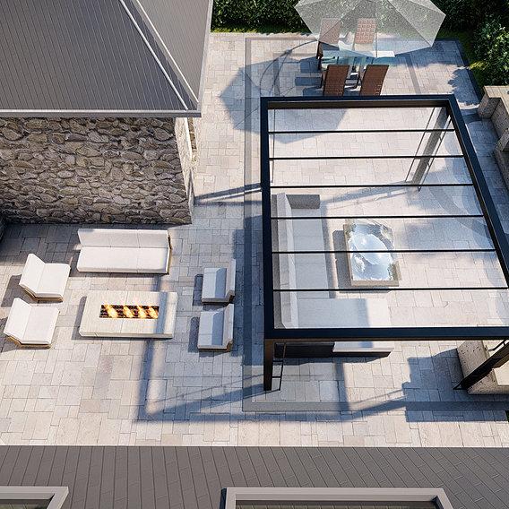 Backyard design and redesign