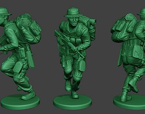 3D printable model Modern Jungle Soldier Run2 MJS1