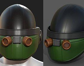 3D asset Helmet scifi fantasy futuristic