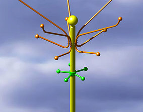 3D Hanger model in Catia v5