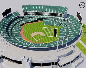 Oakland - Alameda County Coliseum 3D model