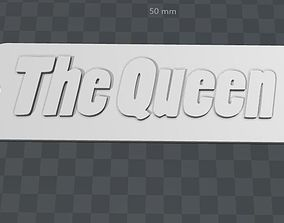 3D printable model Plate- The Queen