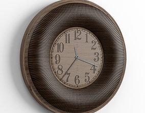 3D model wall clock 1