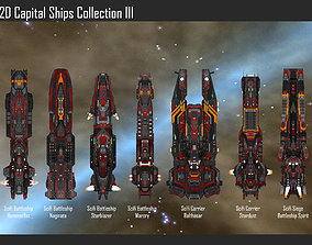 miscellaneous 3D model 2D Capital Ships Collection III
