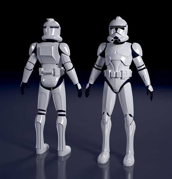 Clone Trooper - WIP