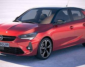 Opel Corsa 2020 3D