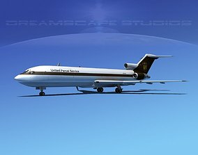 3D model Boeing 727-200 UPS 1