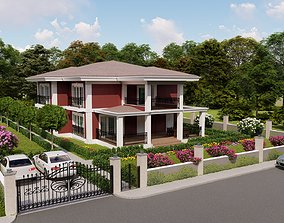3D Villa1 Lumion