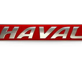 haval logo 3D high