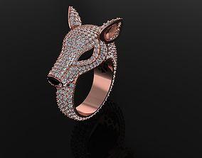 3D printable model Boucheron Doe Ring