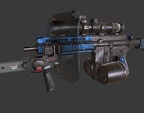3D asset AR Redneck Survival
