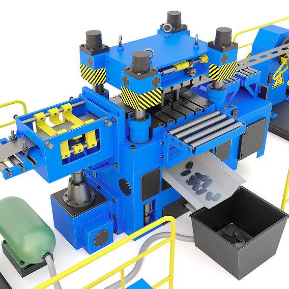 Industrial mechanical press-stamping machine tool AV6230