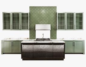 3D Modern kitchen 001