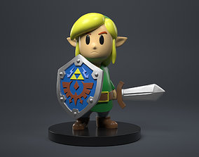 The Legend Of Zelda - Link Firgure 3D printable model