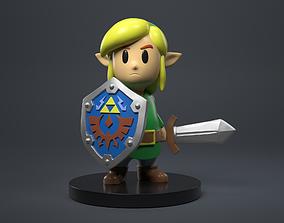 The Legend Of Zelda - Link Firgure 3D print model