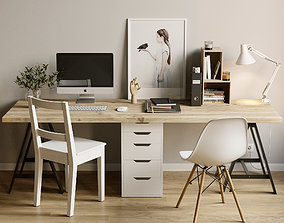 AVE IKEA Workspace 3D