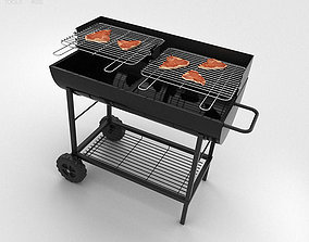 Barbecue Grill 3D