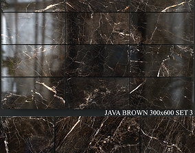 Yurtbay Seramik Java Brown 300x600 Set 3 3D model