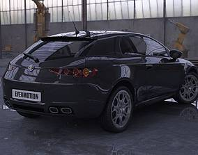 Alfa Romeo Brera 3D model