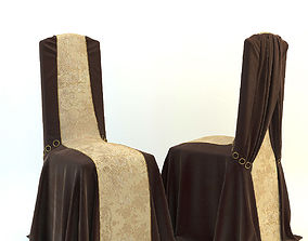 Banquet chairs 3D model