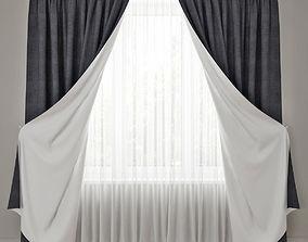 interior curtain 14 3D model