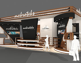3D Exhibition stand - ST0029
