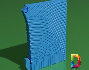WALLET CARD WITH MONEY CLIP 3D print model