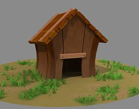 3D asset Dog House