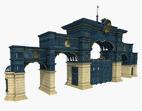 3D Iron Art Classical Gate