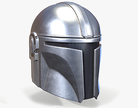 3D asset Mandalorian Helmet