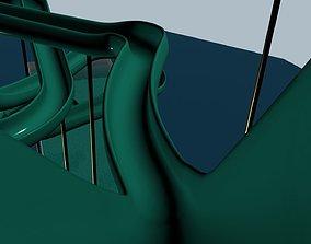 Waterslide 3D model